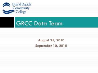 GRCC Data Team