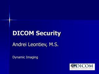 DICOM Security
