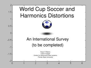 World Cup Soccer and Harmonics Distortions