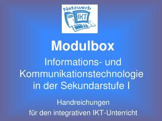 Informations- und Kommunikationstechnologie  in der Sekundarstufe I
