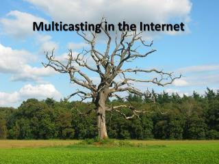Multicasting in the Internet