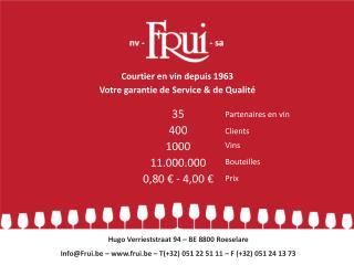 35 400 1000 11.000.000 0,80 € - 4,00 €