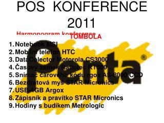 POS  KONFERENCE  2011