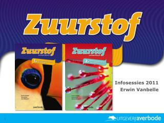 Infosessies 2011 Erwin Vanbelle