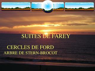 SUITES DE FAREY