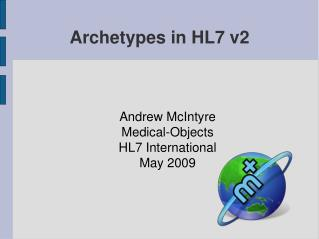 Archetypes in HL7 v2