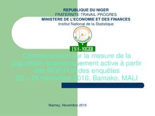 Niamey, Novembre 2010