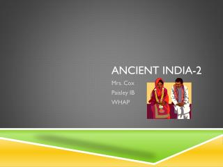 Ancient India-2