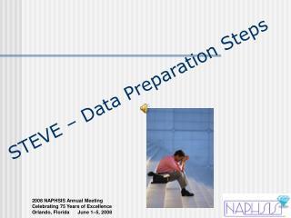 STEVE – Data Preparation Steps