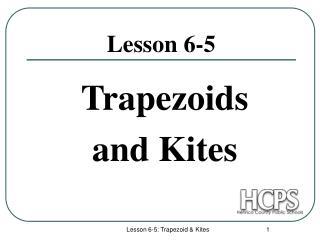 Lesson 6-5