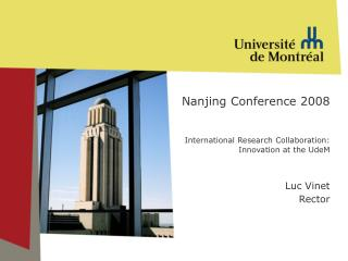 Internationalization of Research