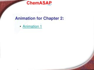 Animation for Chapter 2: Animation 1