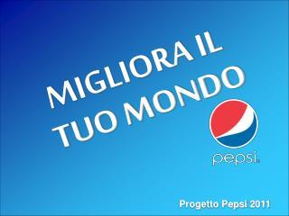 Progetto Pepsi 2011