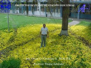 PROYECTOS DE INSTRUMENTACIÓN INDUSTRIAL