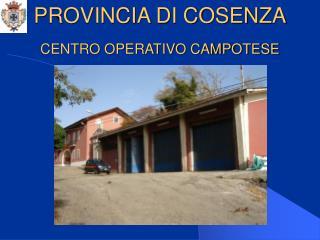 CENTRO OPERATIVO CAMPOTESE