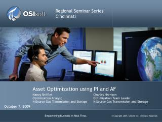 Asset Optimization using PI and AF