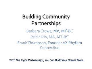 Building Community Partnerships