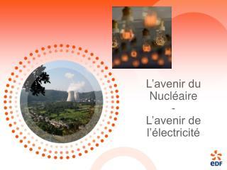 L'avenir du Nucléaire - L'avenir de l'électricité
