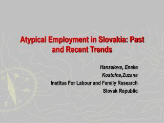Atypical Employment in Slovakia: Past and Recent Trends