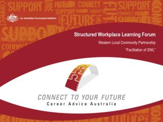 Structured Workplace Learning Forum Western Local Community Partnership  �Facilitation of SWL�