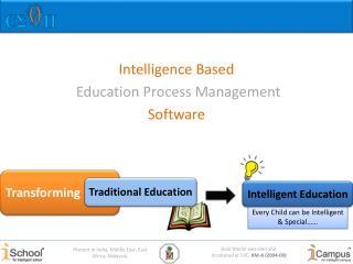 Intelligence Based Education Process Management  Software