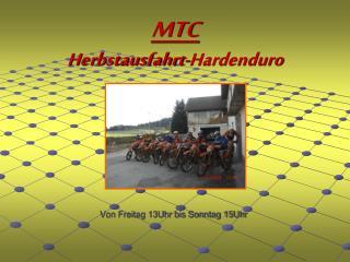 MTC Herbstausfahrt-Hardenduro