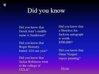 Did you know that a Shoeless Joe Jackson autograph is worth 500,000