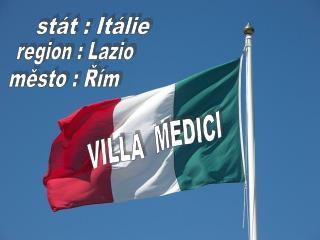 stát : Itálie