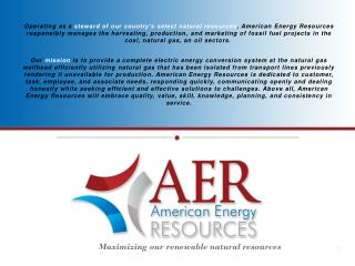Maximizing our renewable natural resources