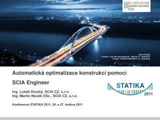 Automatická optimalizace konstrukcí pomocí SCIA Engineer