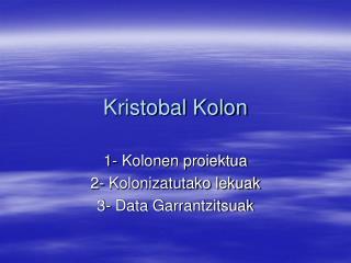 Kristobal Kolon