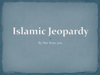 Islamic Jeopardy