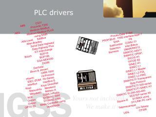 PLC drivers