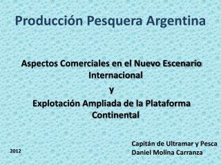 Producción Pesquera Argentina