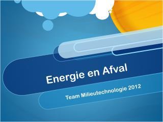 Energie en Afval
