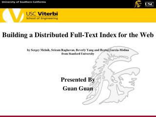 Presented By Guan Guan