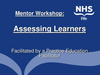 Mentor Workshop: