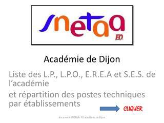 Acad�mie de Dijon