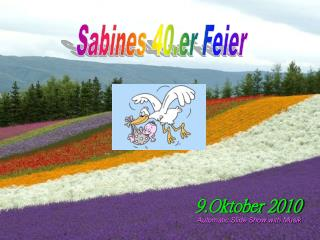 Sabines 40.er Feier