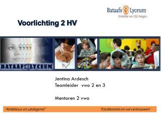 Voorlichting 2 HV