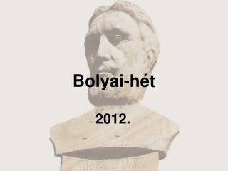 Bolyai-hét