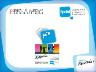 Plan Estratégico Valenciano de Drogodependencias  y Otros Trastornos Adictivos 2006-2010