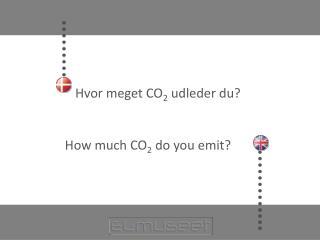 Hvor meget CO 2  udleder du?