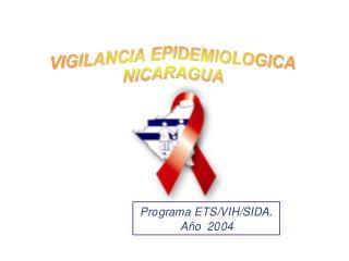 SEROPOSITIVOS/CASOS/FALLECIDOS POR VIH/SIDA NICARAGUA, 1987 - HASTA MARZO 2004.