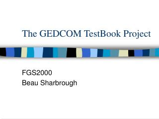 The GEDCOM TestBook Project