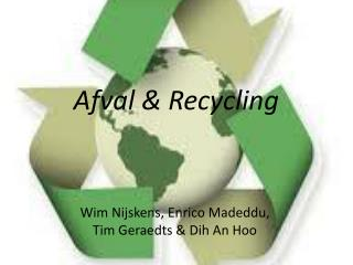 Afval & Recycling