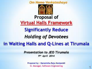Proposal of                                     Virtual Halls Framework Significantly Reduce