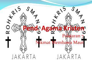 Pend. Agama Kristen