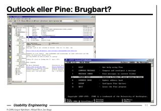 Outlook eller Pine: Brugbart?