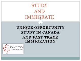 STUDY  AND  IMMIGRATE